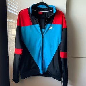 Vintage Nike Zipper Track Sweater